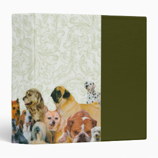 Lots of Dogs Collage Binder