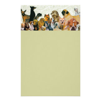 Lots of Dogs Collage Letterhead