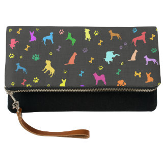 Lots of dogs - Dog Pattern Clutch