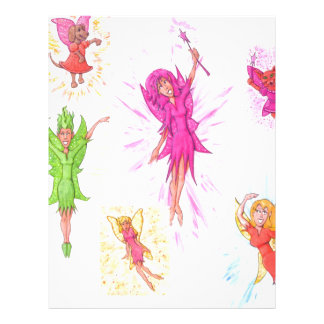Lots of Fairies Letterhead