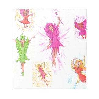 Lots of Fairies Notepad
