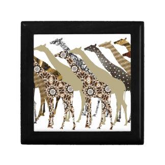 Lots of Giraffes Design 3 Keepsake Boxes