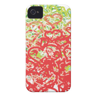 Lots of Hearts iPhone 4 Case-Mate Case