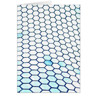 Lots of hexagons card