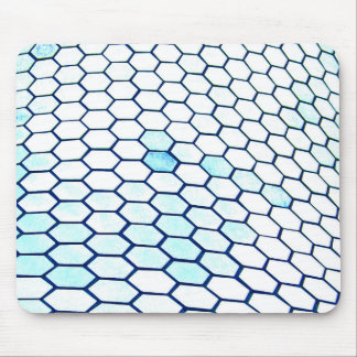 Lots of hexagons mouse pad