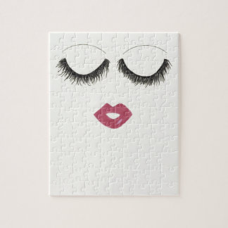 Lots of Lashes Jigsaw Puzzle