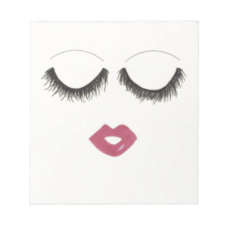 Lots of Lashes Notepad