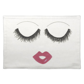 Lots of Lashes Placemat