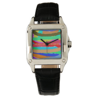Lots of Lines, by Mickeys Art And Design Wrist Watches