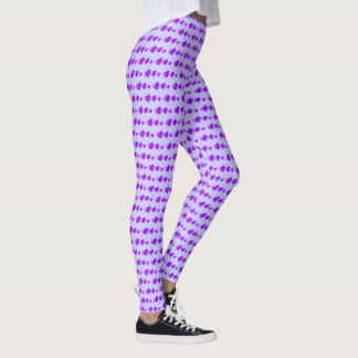 Lots of Love (Heart Pattern) (Purple) Leggings