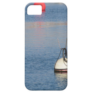 Lots of mooring buoys floating on calm sea water iPhone 5 covers