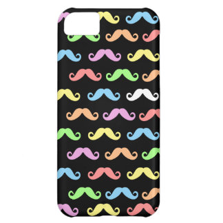 Lots of Mustaches (black) iPhone 5C Cover
