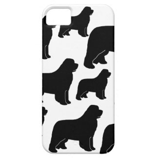 Lots of Newfoundland dogs iPhone 5 Cover