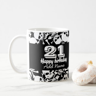Lots of skulls coffee mug