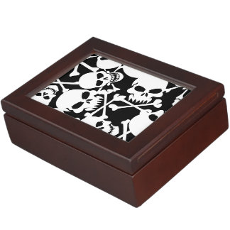 Lots of skulls keepsake box