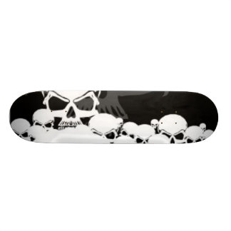 Lots of Skulls Skateboard Deck