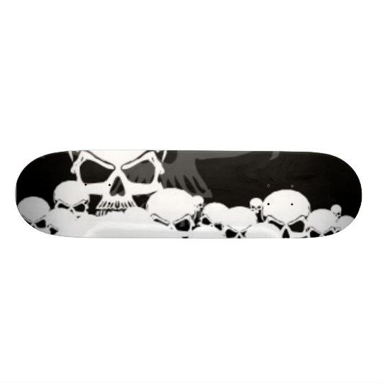 Lots of Skulls Skateboard Deck