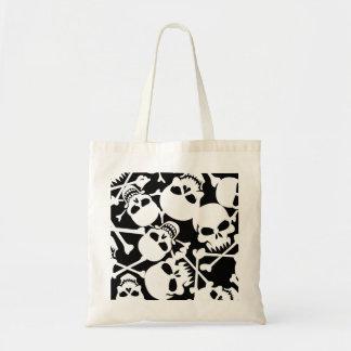 Lots of skulls tote bag