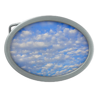 Lots of tiny clouds belt buckle
