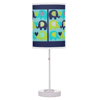 Lotsa Elephants Table Lamp