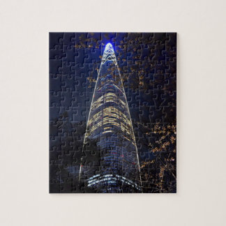 Lotte World Tower in South Korea Jigsaw Puzzle