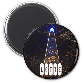 Lotte World Tower Magnet