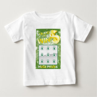 Lottery Instant Scratch Card Baby T-Shirt