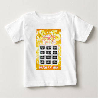 Lottery Instant Scratchcard Baby T-Shirt