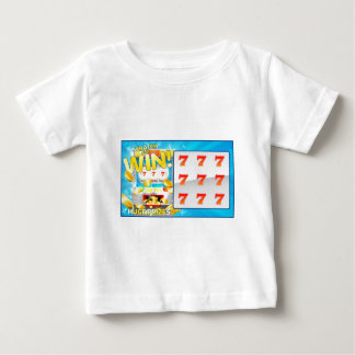Lottery Scratch and Win Card Baby T-Shirt