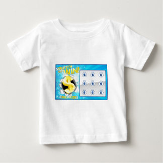 Lottery Scratch Card Baby T-Shirt