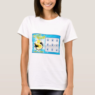 Lottery Scratch Card T-Shirt