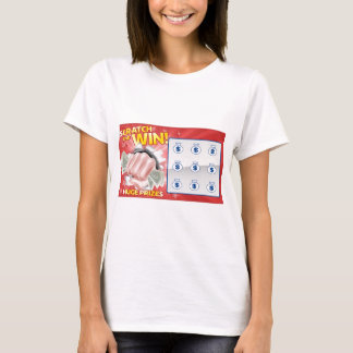 Lottery Scratchcard T-Shirt