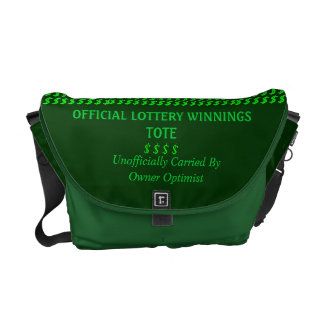 Lottery Tote Commuter Bags