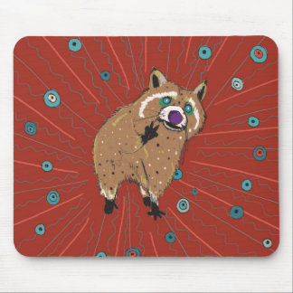 Lotti of the hippie mouse pad