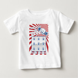 Lotto Scratch Card Baby T-Shirt