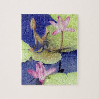 Lotus 600 jigsaw puzzle