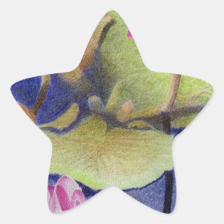 Lotus 600 star sticker