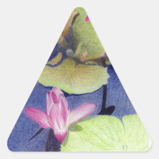 Lotus 600 triangle sticker