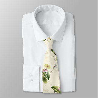 LOTUS AND BUTTERFLY TIE