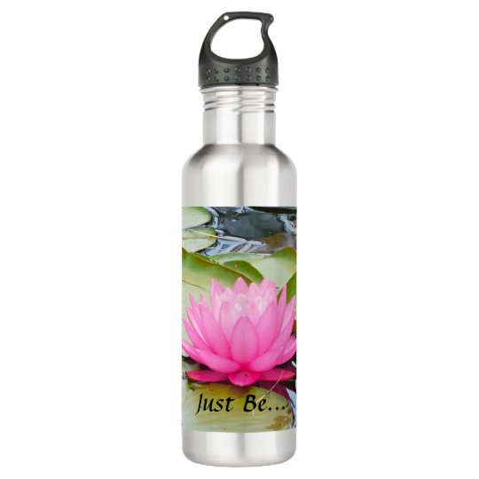 Lotus Art water bottle