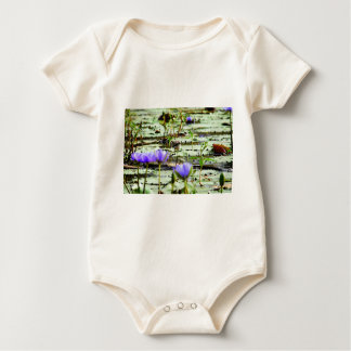 LOTUS BIRD RURAL QUEENSLAND AUSTRALIA BABY BODYSUIT