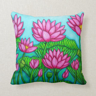 Lotus Bliss American MoJo Pillows