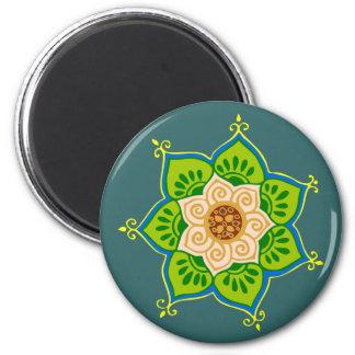 Lotus bloom lotus blossom magnet