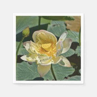 Lotus Blossom Disposable Napkins