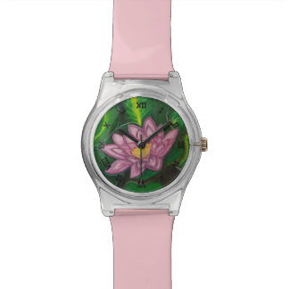 Lotus Blossom (Lily Pad) Wrist Watches