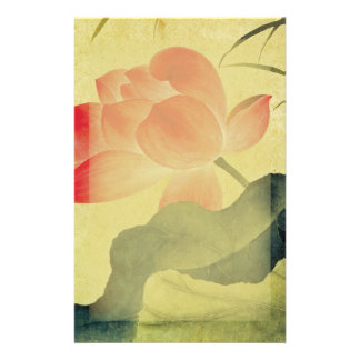 Lotus Blossom Stationery