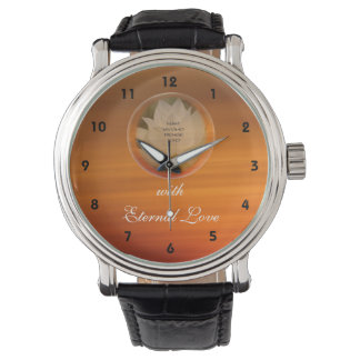 Lotus Bubble SGI Buddhist Valentine Watch