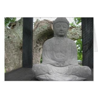 Lotus Buddha Card