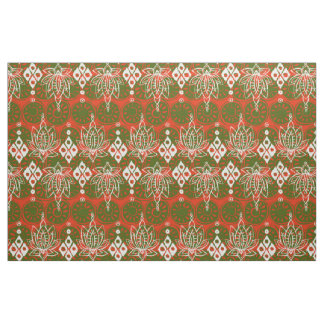 lotus diamond festive fabric