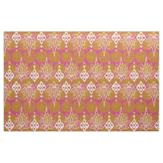 lotus diamond pink fabric
